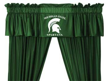 Michigan State Spartans Valance