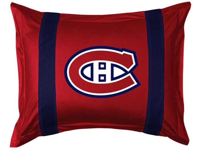 Montreal Canadiens Sideline Pillow Sham