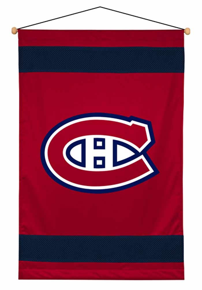 Montreal Canadiens Sideline Wall Hanging - 28 X 45