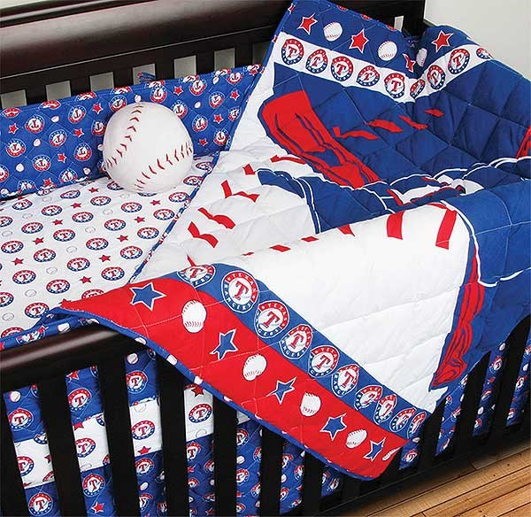 Texas Rangers Crib Set