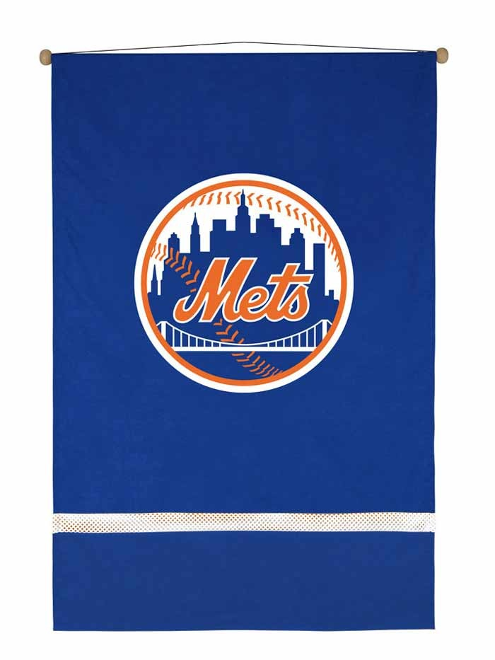 New York Mets MVP Wall Hanging - 28 X 45