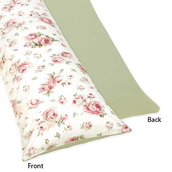 Rileys Roses Body Pillow Cover