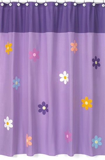 Danielles Daisies Shower Curtain