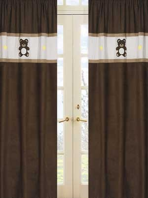Teddy Bear Chocolate Window Panels