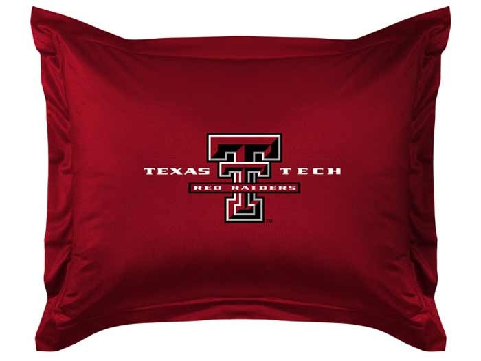 Texas Tech Red Raiders Sideline Pillow Sham