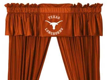 Texas Longhorns Valance