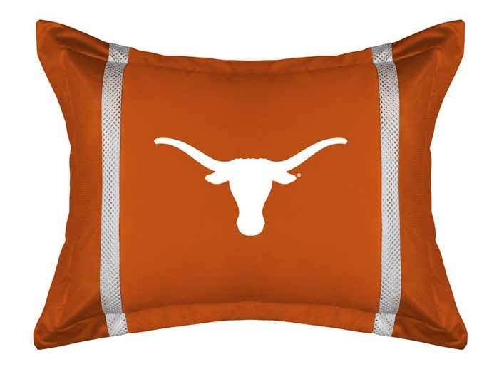 Texas Longhorns Sideline Pillow Sham