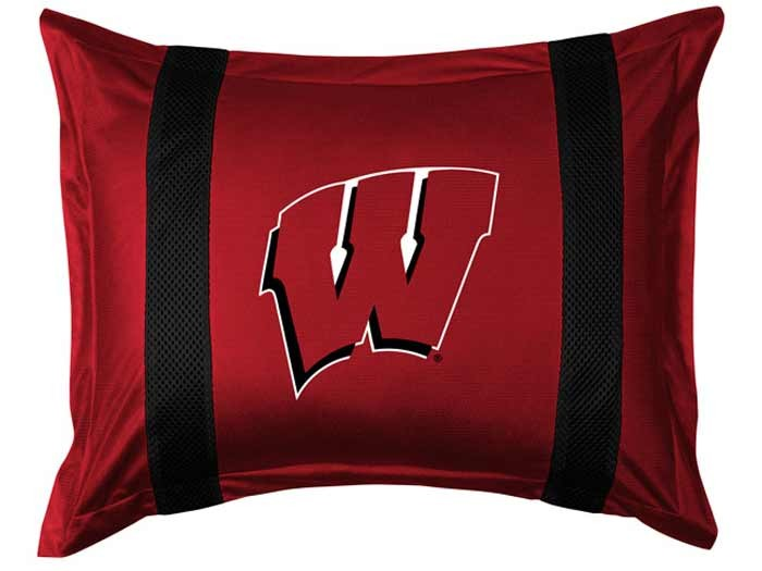 Wisconsin Badgers Sideline Pillow Sham