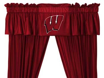 Wisconsin Badgers Valance