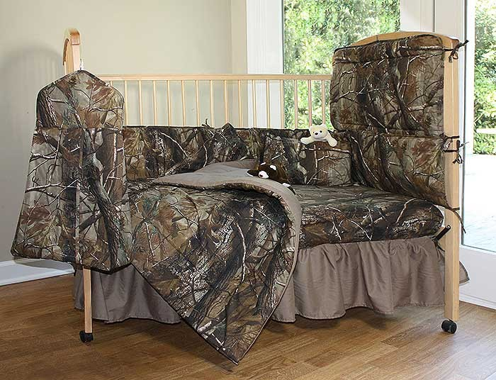 Realtree All Purpose Camouflage 3 Piece Crib Set