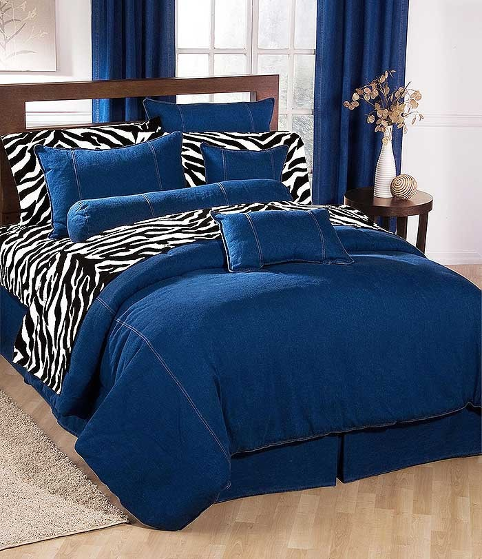 American Denim California King Size Duvet Cover Classic