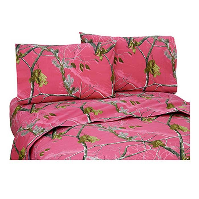 ap fuchsia camouflage sheet set extra long twin size blanket warehouse. Black Bedroom Furniture Sets. Home Design Ideas