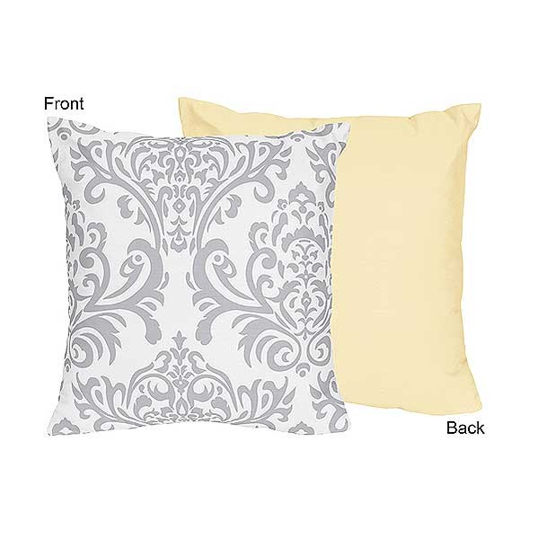 Avery Yellow Accent Pillow