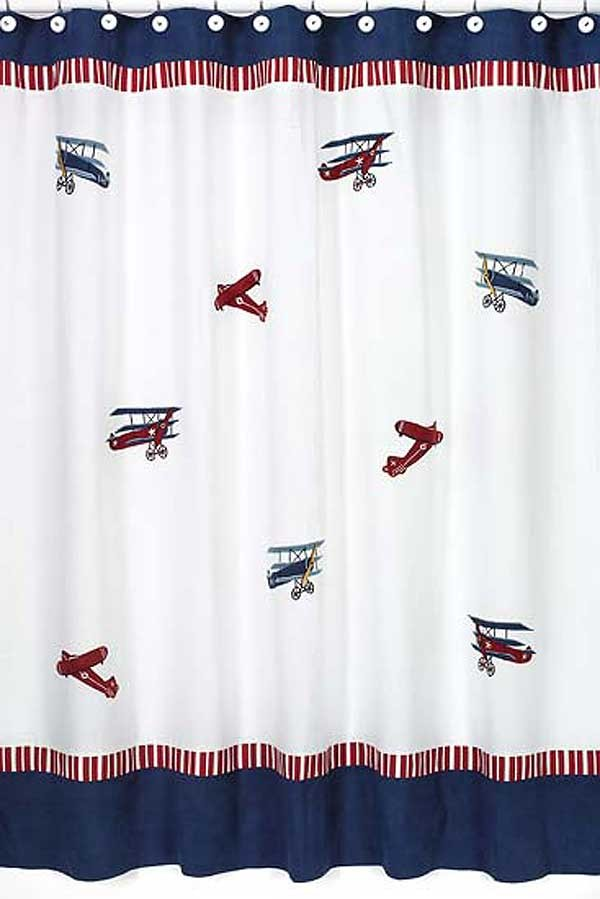 Aviator Shower Curtain