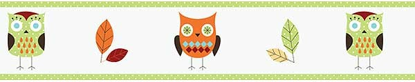 Hooty the Owl Wall Border