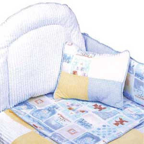 Baby Blocks 4 Piece Standard Crib Bedding Set by California Kids