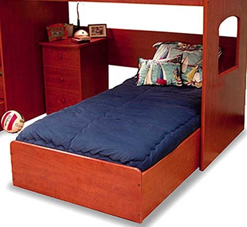 Solid Color Bunk Bed Hugger Comforter by California Kids - 19 Color Options