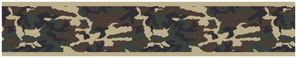 Green Camouflage Border Blanket Warehouse