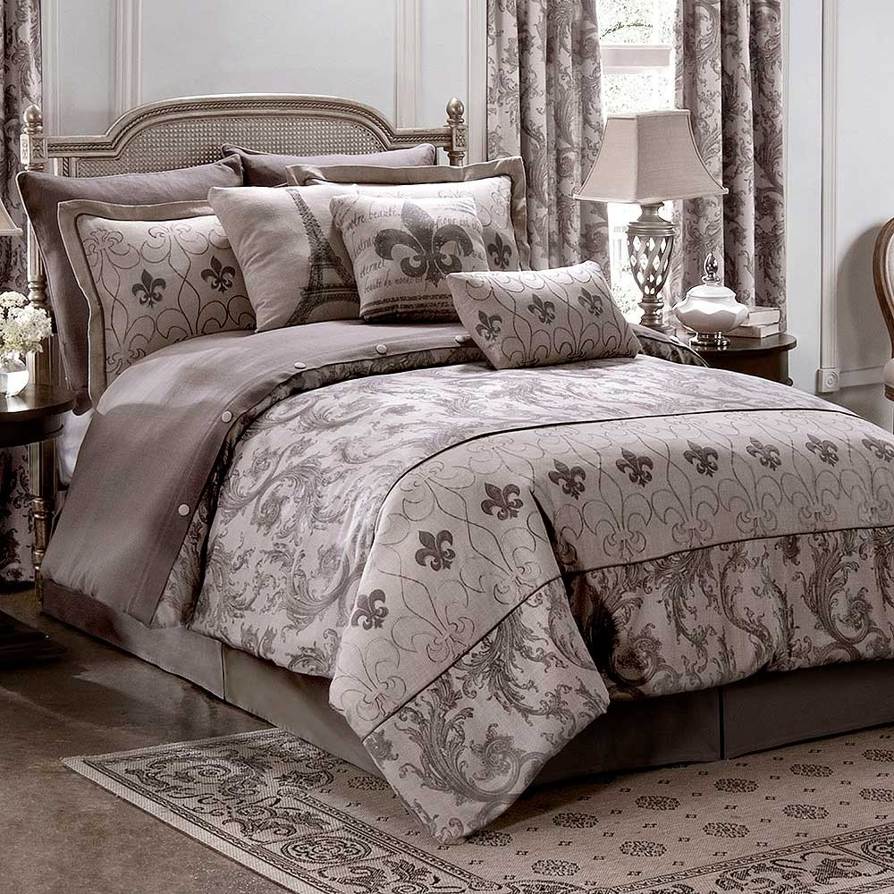 Chateau comforter set queen size blanket warehouse for Chateau beds