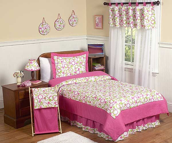 Circles Bedding Set - 4 Piece Twin Size By Sweet Jojo Designs