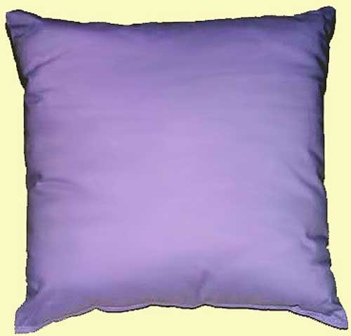 300 Thread Count 100% Cotton Solid Color Square Accent Pillow - Select from 8 Colors