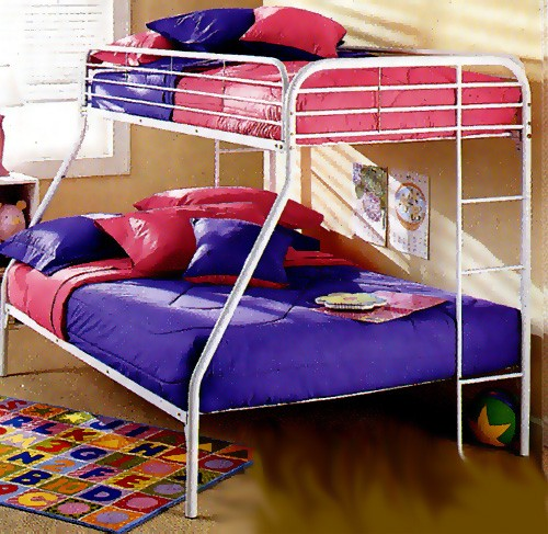 500 Thread Count Solid Color Fitted Bunk Bed Cap - 100% Cotton - Choose White or Bone