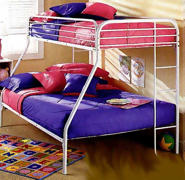 White Bunk Bed Cap - Full Size - Clearance