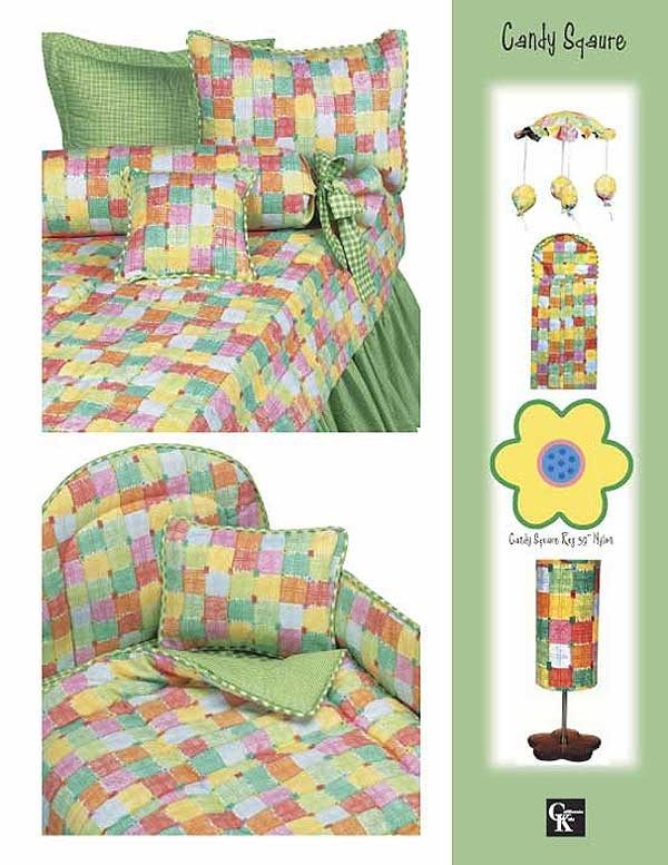 Candy Square Bunkie Sheet Set