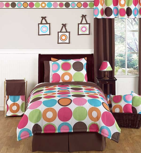 Deco Dot Comforter Set - 3 Piece Full/Queen Size By Sweet Jojo Designs