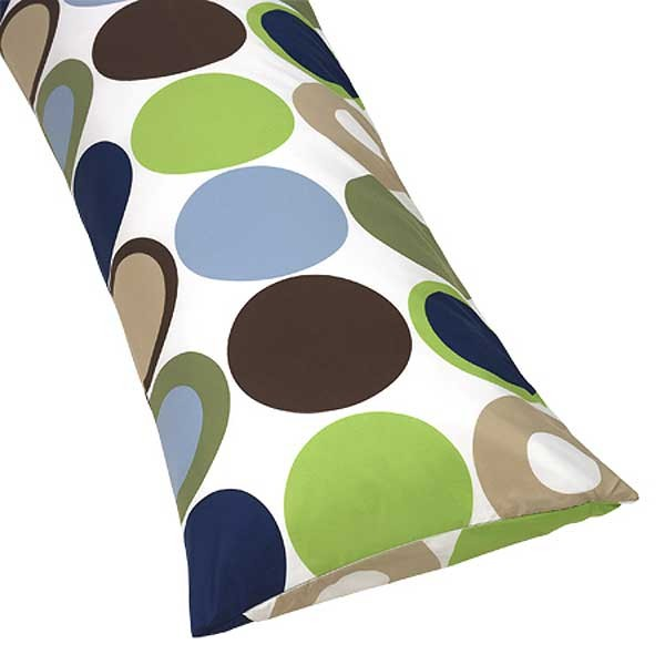 Designer Dot Body Pillow Cover