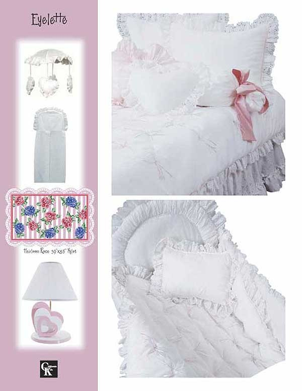 Eyelette Cradle Set by California Kids