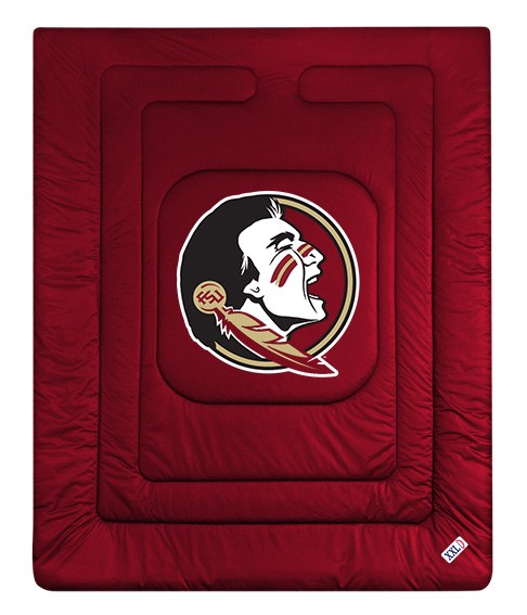 Florida State Seminoles Comforter - Locker Room Collection (New Logo)