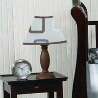 Geo Blue Lamp Shade
