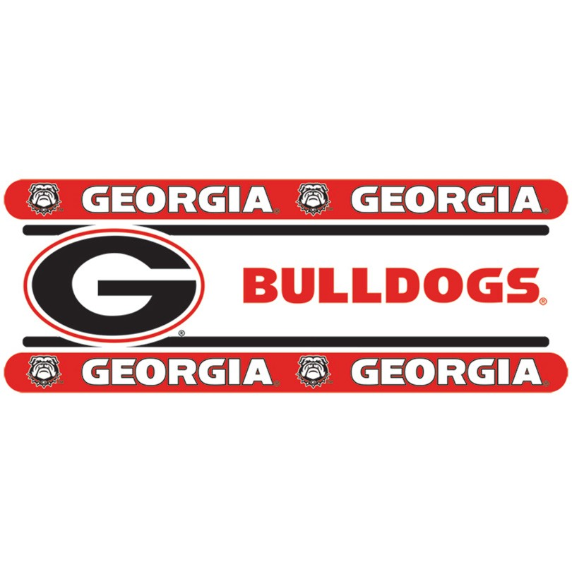 "Georgia Bulldogs Wall Border - 5"" Tall X 15' Long"