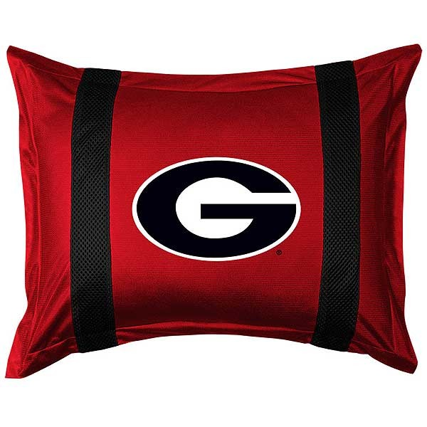 Georgia Bulldogs Sideline Pillow Sham