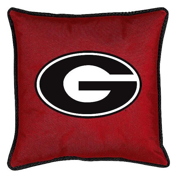 "Georgia Bulldogs Toss Pillow - 18"" X 18"" Sideline Toss Pillow"