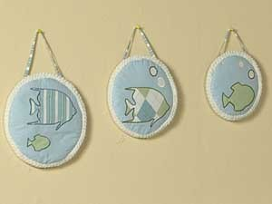 Go Fish Wall Hanging