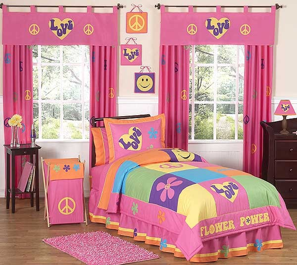 Groovy Bedding Set - 4 Piece Twin Size By Sweet Jojo Designs