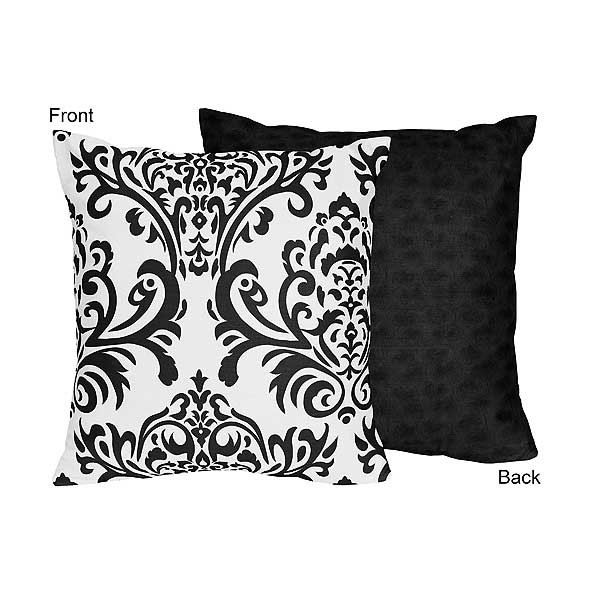 Isabella Black Accent Pillow