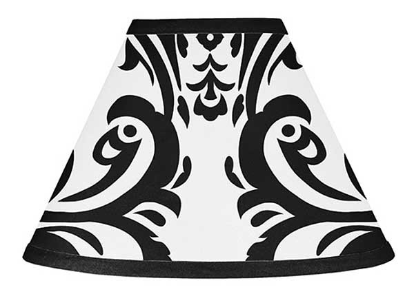 Isabella Black Lamp Shade