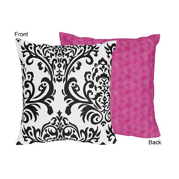 Isabella Pink Accent Pillow