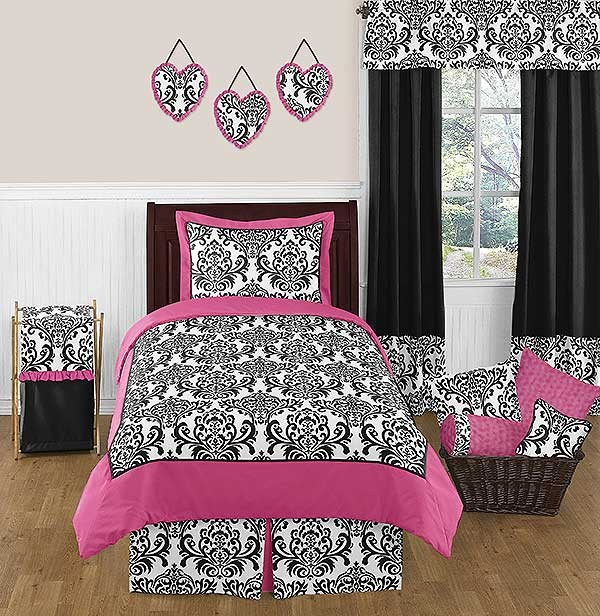 Isabella Pink Comforter Set - 3 Piece Full/Queen Size By Sweet Jojo Designs