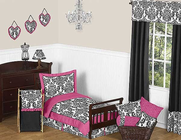 Isabella Pink Toddler Bedding Set By Sweet Jojo Designs