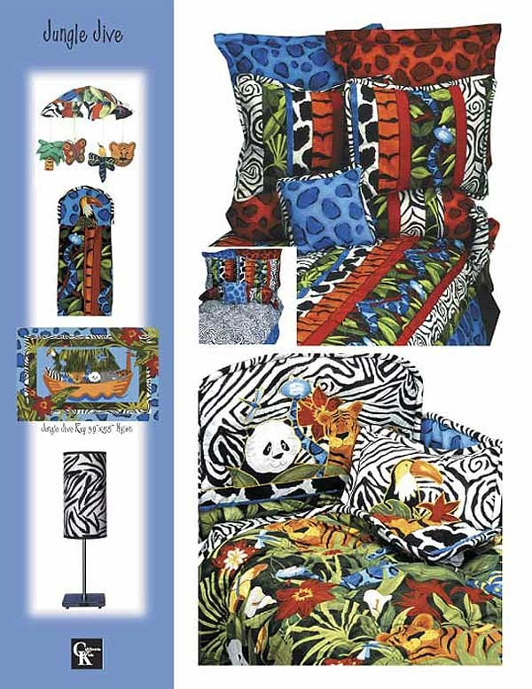 Jungle Jive Bunkie Sheet Set