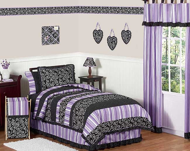 Kaylee Bedding Set - 4 Piece Twin Size By Sweet Jojo Designs