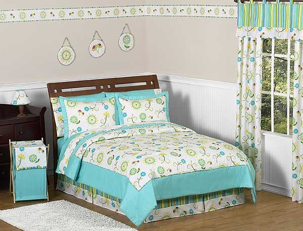 Layla Comforter Set - 3 Piece Full/Queen Size By Sweet Jojo Designs