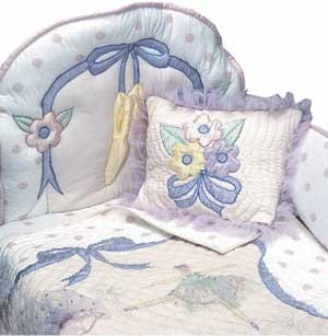 Little Dancer Bunkie Comforter - Toddler Bedding