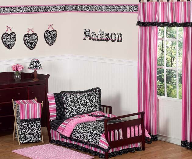 Madison Toddler Bedding Set By Sweet Jojo Designs