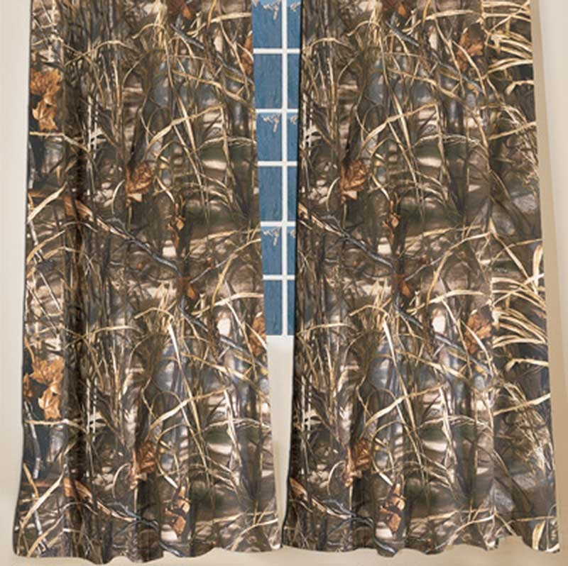 Realtree Max-4 Camouflage Curtains