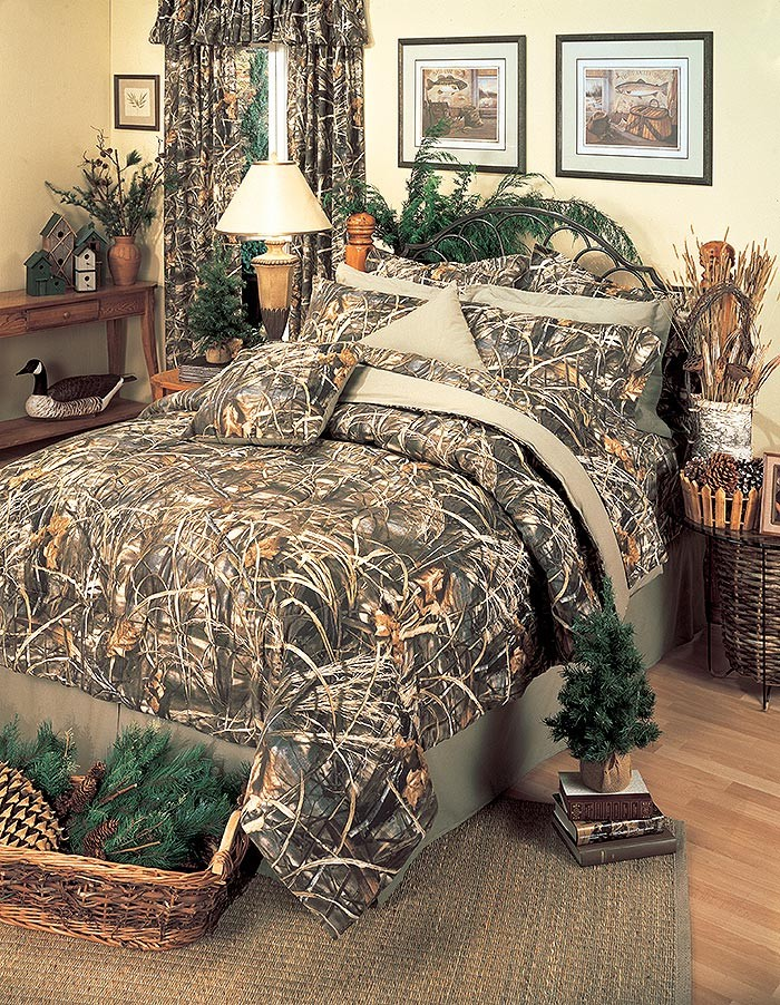 Realtree Max-4 Camouflage Comforter Set - Twin Size